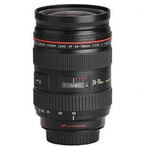 Canon EF 24-70mm For Rent F2.8L USM