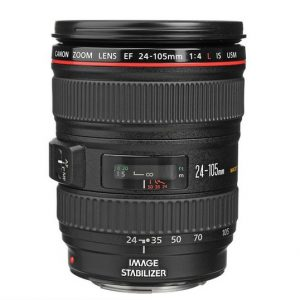 Canon EF24-105mm For Rent f/4L IS USM