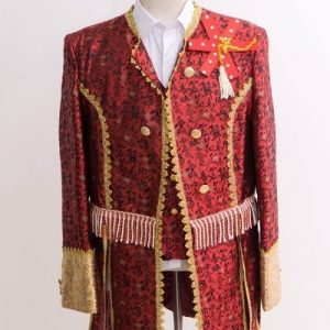 Maroon Masquerade Male Coat Size M   Men Suits   RentSmart Asia   Renting Is The New Buying