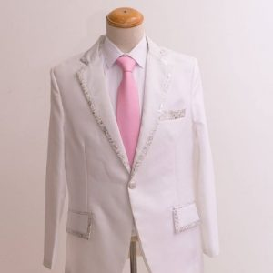 White Masquerade Male Coat Size M For Rent   Men Suits   RentSmart Asia   Renting Is The New Buying