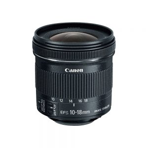 Canon EF-S10-18mm For Rent f4.5-5.6 IS STM