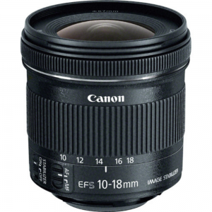 Canon Lens EF-S10-18mm f4.5-5.6 IS STM For Rent