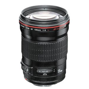 Canon EF135mm For Rent f/2L USM