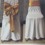 Banquet chair cover and ribbon RM 5.50