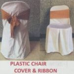Plastic Chair covered with ribbon RM 4