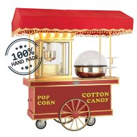 Mini popcorn machine and candy machine
