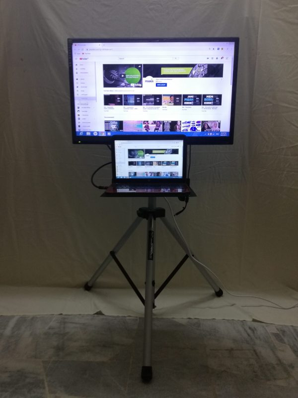 TV With Tripod Stand For Rent