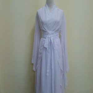 White Chinese Style Female HanFu / TangZhuang Size S/L Costume For Rent | RentSmart Asia | Renting Is The New Buying