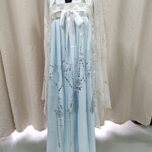 Turquoise Chinese Style Female HanFu / TangZhuang Size S/L Costume For Rent | RentSmart Asia | Renting Is The New Buying