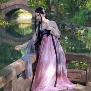 Pink Chinese Style Female HanFu / TangZhuang Costume For Rent   RentSmart Asia   Renting Is The New Buying