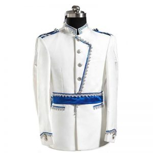 White & Blue Masquerade Male Coat Size M   Men Suits   RentSmart Asia   Renting Is The New Buying