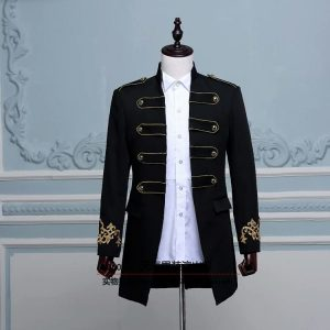 Black Masquerade Male Coat Size L   Men Suits   RentSmart Asia   Renting Is The New Buying