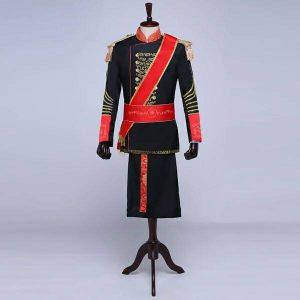 Black & Red Masquerade Male Coat Size M   Men Suits   RentSmart Asia   Renting Is The New Buying