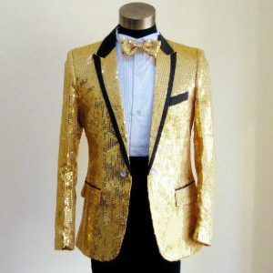 Golden Masquerade Male Coat Size M For Rent   Men Suits   RentSmart Asia   Renting Is The New Buying
