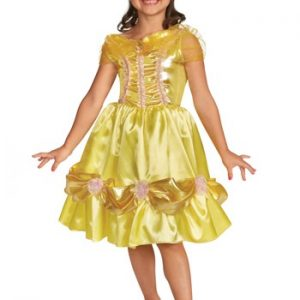belle beauty and the beast kids costume