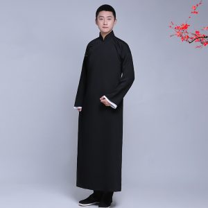 Black Traditional Shanghai Male Fro Rent | Cultural Wear | RentSmart Asia | Renting Is The New Buying