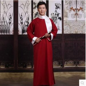 Maroon Traditional Shanghai Male For Rent | Cultural Wear | RentSmart Asia | Renting Is The New Buying