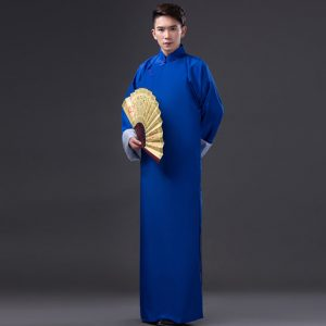 Blue Traditional Shanghai Male For Rent | Cultural Wear | RentSmart Asia | Renting Is The New Buying