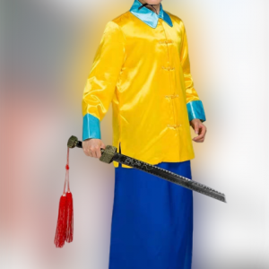 Yellow Traditional Chinese Male For Rent | Cultural Wear | RentSmart Asia | Renting Is The New Buying