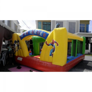 Superheroes Bounce House For Rent