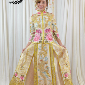 108 Chinese traditional trailing skirt gown | Cultural Dresses | RentSmart Asia | Renting Is The New Buying