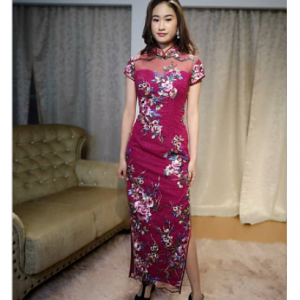 Pink Cheongsam | Cultural Dresses | RentSmart Asia | Renting Is The New Buying