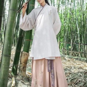 Male Chinese Traditional Brown HanFu For Rent | Cultural Wear | RentSmart Asia | Renting Is The New Buying