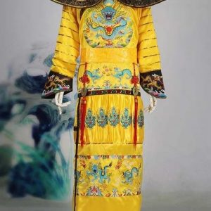 Chinese Qing Dynasty Emperor Yellow King Costume For Rent | Cultural Wear | RentSmart Asia | Renting Is The New Buying