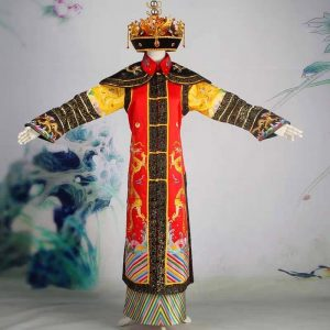 Chinese Qing Dynasty Empress Queen Costume For Rent | Cultural Dresses | RentSmart Asia | Renting Is The New Buying