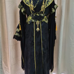 Male Chinese Style Black Gold Ancient Chinese Drama Costume For Rent   Men's Clothing   RentSmart Asia   Renting Is The New Buying