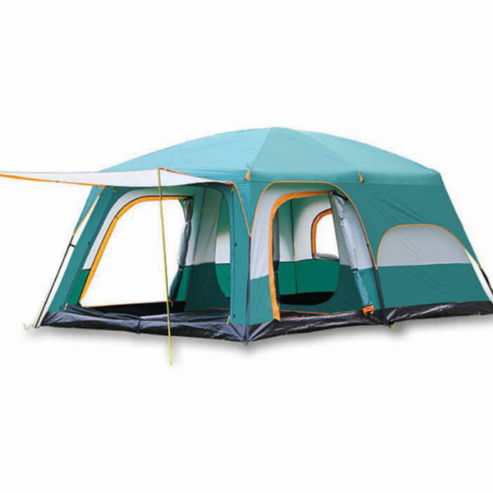 8-12 Men Camping Tent (Double Layer)