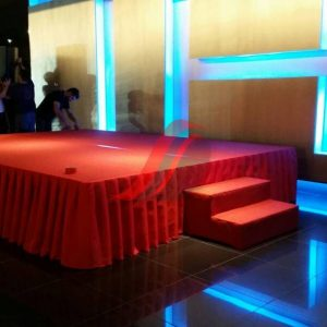Stage With Carpet & Staircase - Any Color