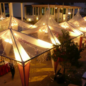 Transparent Canopy With Fairy Light For Rent