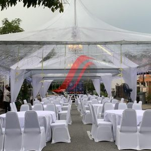 Transparent Canopy 20FT x 20FT For Rent
