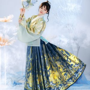 Female Chinese Traditional HanFu MingZhi Hanfu For Rent | Cultural Dresses | RentSmart Asia | Renting Is The New Buying