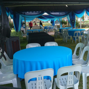 Banquet Table Set for Rent
