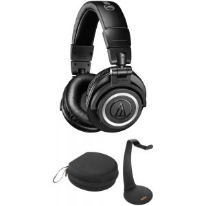Audio-Technica ATH-M50xBT For Rent Studio Sound Wireless Over-Ear Headphones
