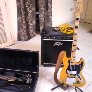 Bass and Speaker For Rent