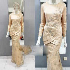 Dress Peplum Tulip | Wedding Gowns | RentSmart Asia | Renting Is The New Buying