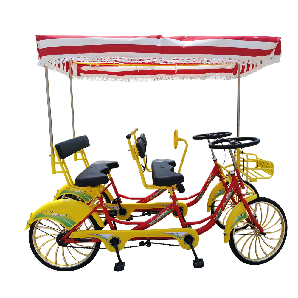 FAMILY BICYCLE 6 SEATER