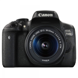 Canon EOS 750D DSLR Camera For Rent