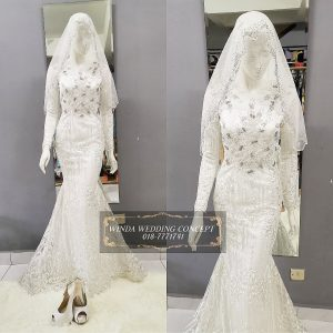 Dress Full Lace Off White | Wedding Gowns | RentSmart Asia | Renting Is The New Buying