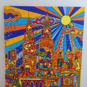 Kuala Lumpur Painting | Props | RentSmart Asia | Renting Is The New Buying