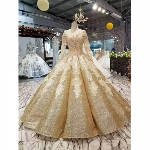 Shiny Ball Gown For Rent