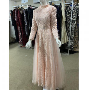 Lace Light Pink Dress | Women's Clothing | RentSmart Asia | Renting Is The New Buying