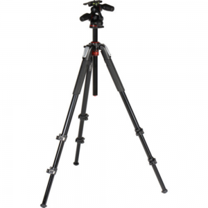 Manfrotto MT055XPRO3-3W 3 way head Tripod For Rent