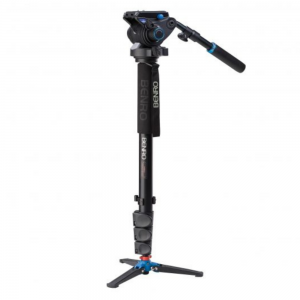 Benro A38FD Monopod Kit with S4 Video Head For Rent