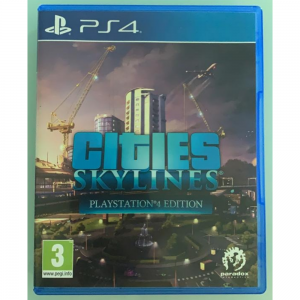 PS4 - Cities Skylines For Rent