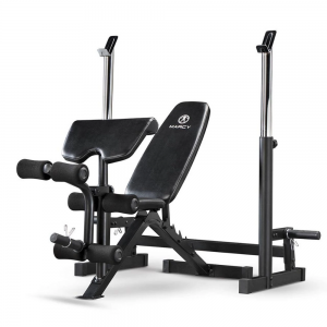 Marcy Deluxe Olympic Bench W/ Squat Stand For Rent
