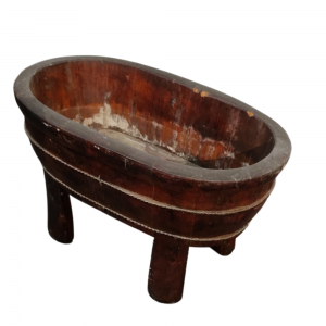 Wooden Basin For Rent